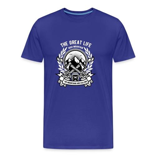 The Great Life - Men's Premium T-Shirt