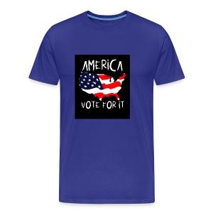 AMERICA VOTE IT - Men's Premium T-Shirt