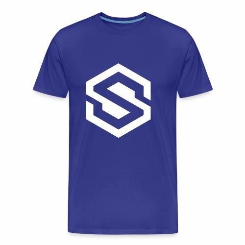 safecoin mark white - Men's Premium T-Shirt