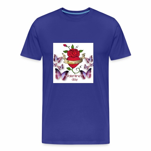 Happy Valentine's Day - Men's Premium T-Shirt