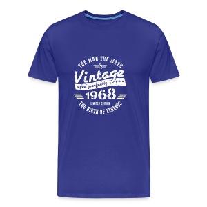 50th Birthday Gift For Men 1968 - Men's Premium T-Shirt