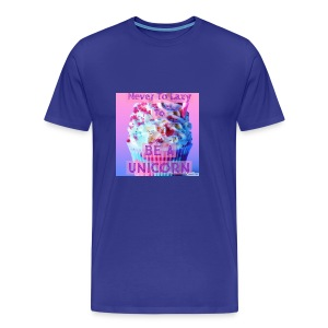 Never To Lazy To Be A Unicorn - Men's Premium T-Shirt