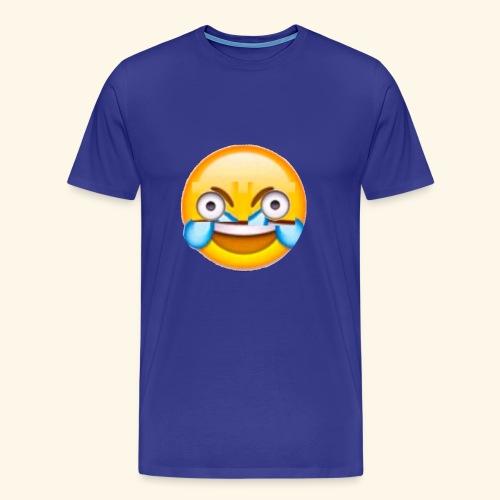 Mad Laughing Face - Men's Premium T-Shirt
