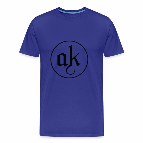 AK LOGO Black - Men's Premium T-Shirt