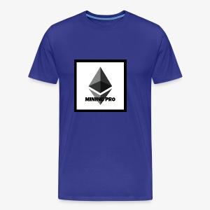 Ethereum Mining Pro - Men's Premium T-Shirt