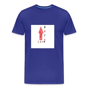 Life Raise 8 - Men's Premium T-Shirt