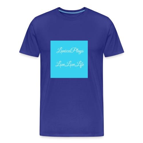 7637DE9B 36B0 4755 90EB B7ED78D700D7 - Men's Premium T-Shirt
