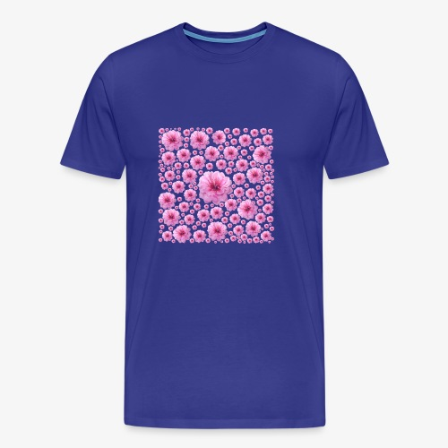 Flower pattern - Men's Premium T-Shirt