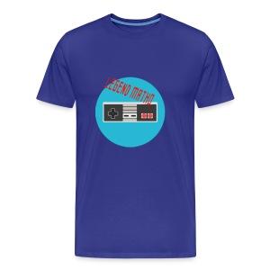 Legend Matho RETRO logo! - Men's Premium T-Shirt