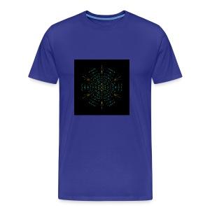 Electric mandala - Men's Premium T-Shirt