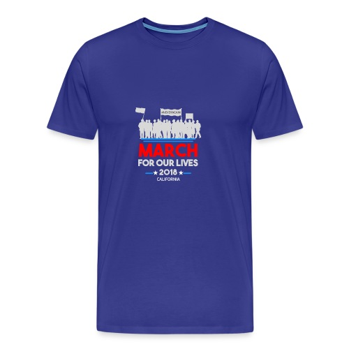 March For Our Lives 2018 T Shirts - Men's Premium T-Shirt