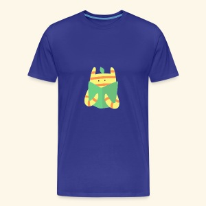 book monster - Men's Premium T-Shirt