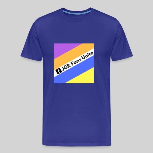 JGR Fans Unite Retro Logo - Men's Premium T-Shirt