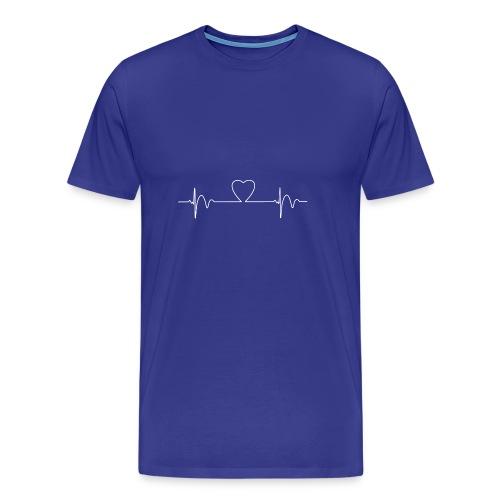 Heart Beat T-Shirt - Men's Premium T-Shirt