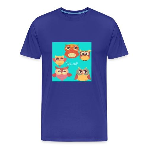 Cute owls - Men's Premium T-Shirt