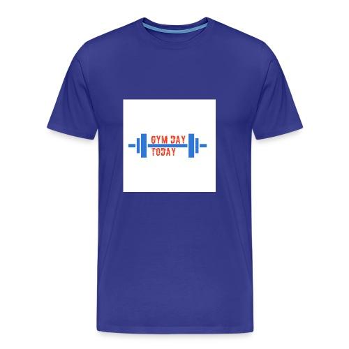 gym_day_today - Men's Premium T-Shirt