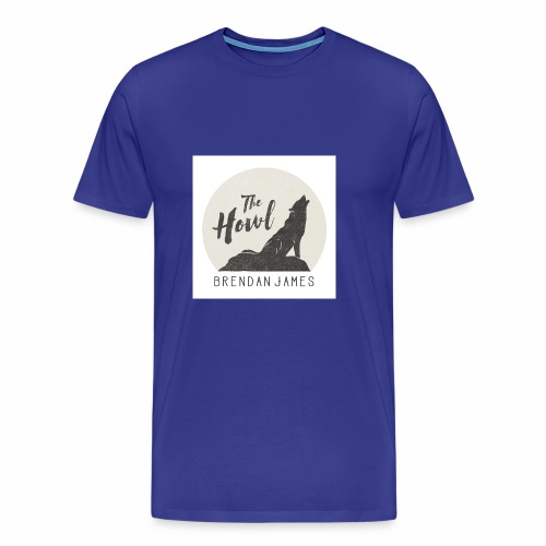 Brendan James, The Howl - Men's Premium T-Shirt