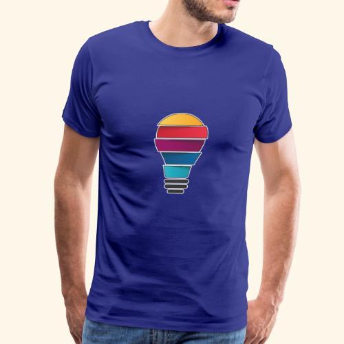 Creativity does not end - Men's Premium T-Shirt