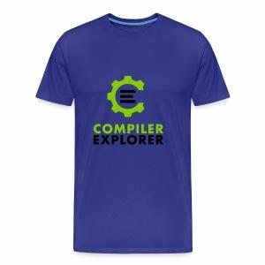 Logo and text - Men's Premium T-Shirt