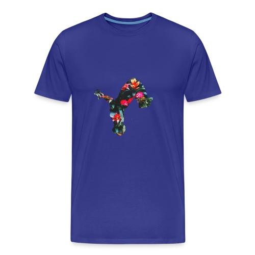 Tropical uproar flip logo - Men's Premium T-Shirt