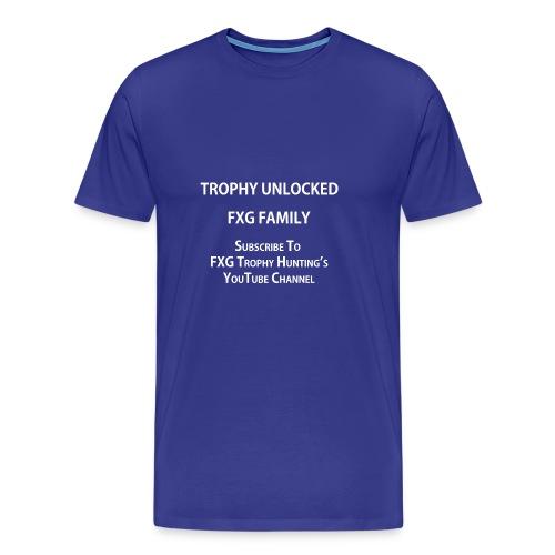 FXG Family Trophy Unlocked - Men's Premium T-Shirt