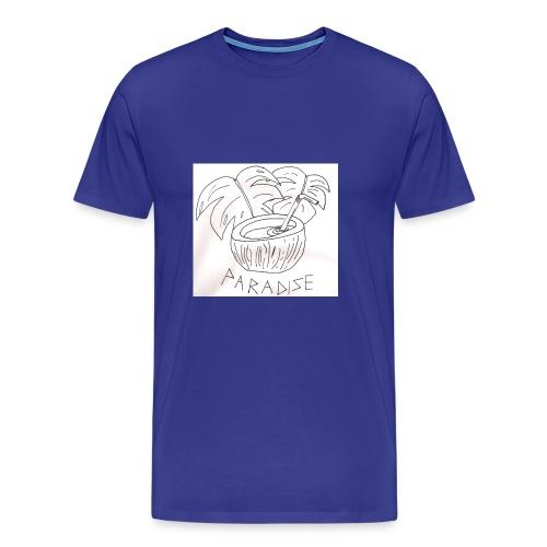 Coconut paradise - Men's Premium T-Shirt