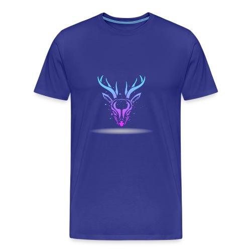 Tribal deer - Men's Premium T-Shirt