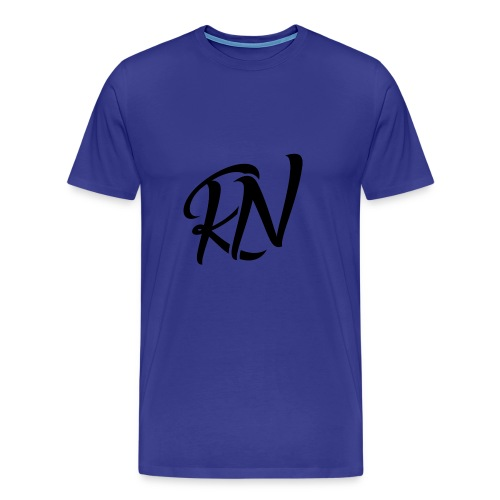 RomanNation Black (RN) - Men's Premium T-Shirt