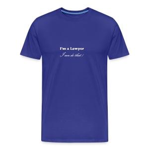 Lawyer - Men's Premium T-Shirt