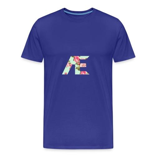 AE Floral design - Men's Premium T-Shirt
