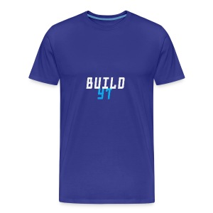 BuilderYt - Men's Premium T-Shirt