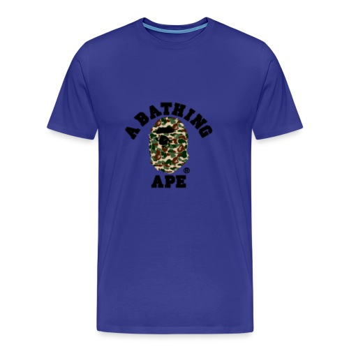 BathingApeCamoLogoMerch - Men's Premium T-Shirt