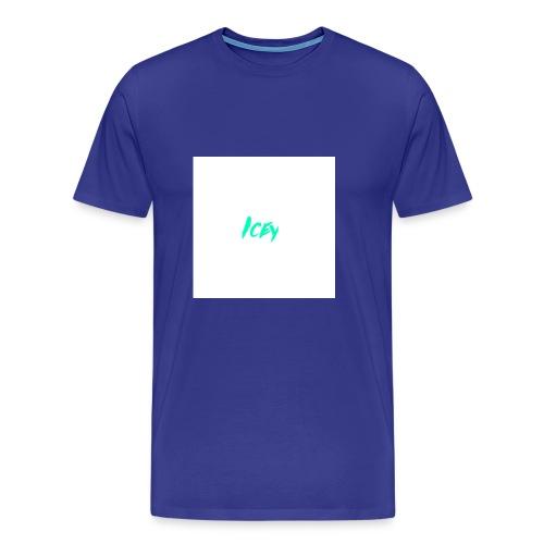 Icey logo - Men's Premium T-Shirt