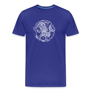 fishy white - Men's Premium T-Shirt