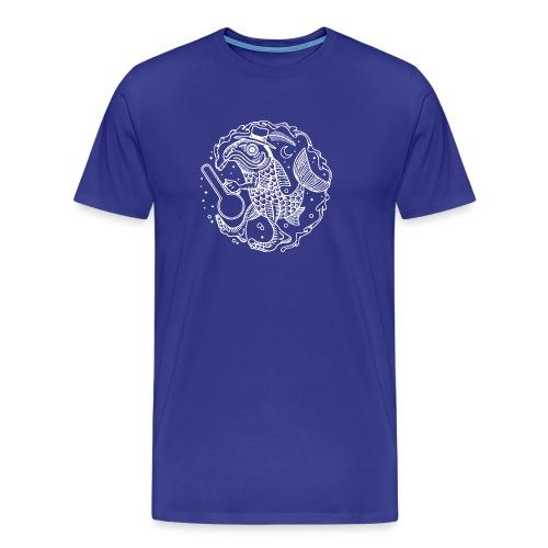 fishy white - Men's Premium T-Shirt
