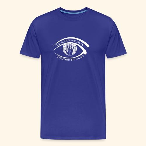 Society of Esoteric Thinkers white logo - Men's Premium T-Shirt
