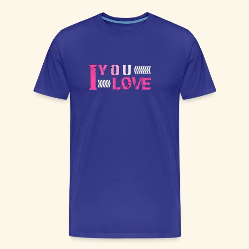 iloveyou - Men's Premium T-Shirt