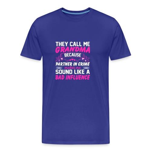 Funny Shirt For Grandma - Men's Premium T-Shirt