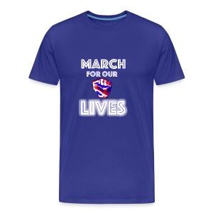 March For Our Lives Shirt - Men's Premium T-Shirt