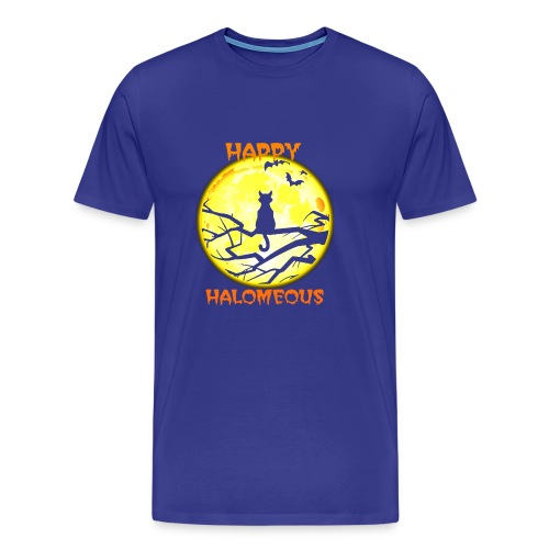 Happy Halloween Cats - Men's Premium T-Shirt
