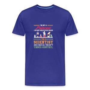 Military Veteran Sniper Safe Space 1500 - Men's Premium T-Shirt