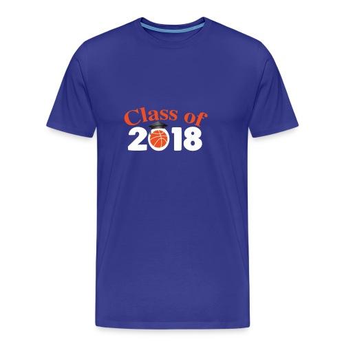 Graduation Shirt For Basketball Lover. - Men's Premium T-Shirt