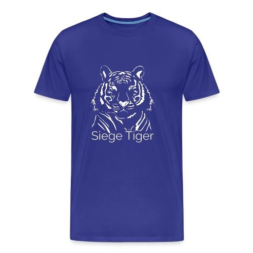 Siege Tiger White - Men's Premium T-Shirt