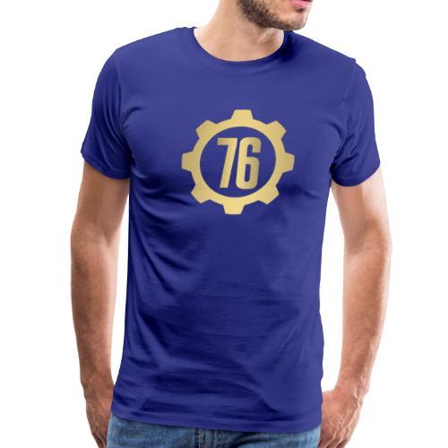 Vault 76 Dweller Shirt Design - Men's Premium T-Shirt