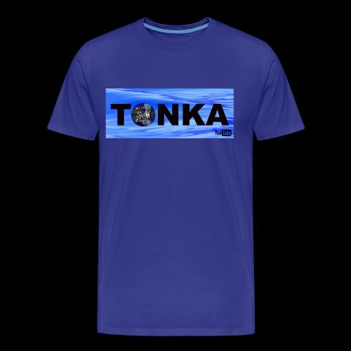 Tonka the WaterWolf in Water - Men's Premium T-Shirt