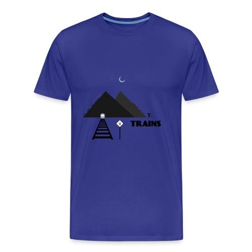 Mt.Trains - Men's Premium T-Shirt