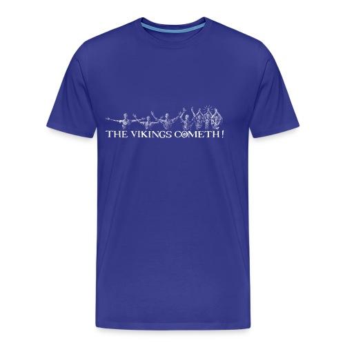 The Vikings Cometh - Men's Premium T-Shirt