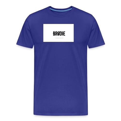 tattoo design name brodie 06 - Men's Premium T-Shirt