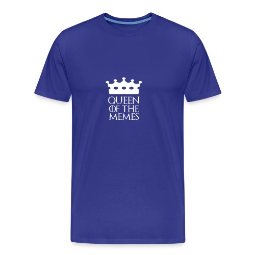 Queen of the Memes - Men's Premium T-Shirt