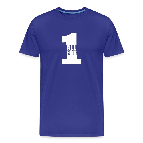 All For One -White- Best Selling Design Best Gifts - Men's Premium T-Shirt